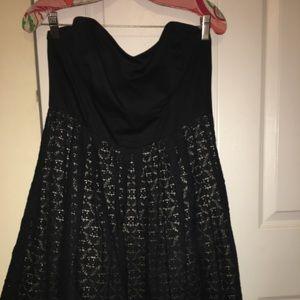 Moulinette Soeurs strapless sweetheart dress